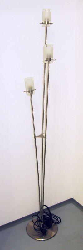LANDLITE V2056/3F, 3x G9 Max 40W halogén izzó, fényszabályzóval, állólámpa
