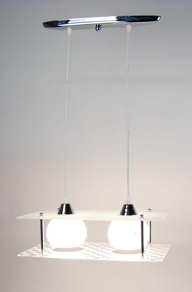 V4085/2C modern függesztett lámpa 2xE27 230V