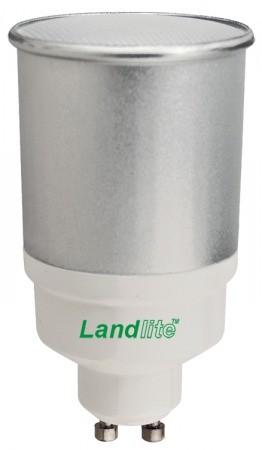 LANDLITE D-CFL-GU10-11W 230V 2700K 10000óra (SZABÁLYOZHATÓ energiatakarékos izzó)