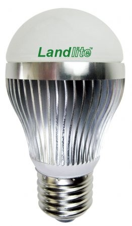 LANDLITE LDM-A50-5W 230V E27, melegfehér, LED izzó