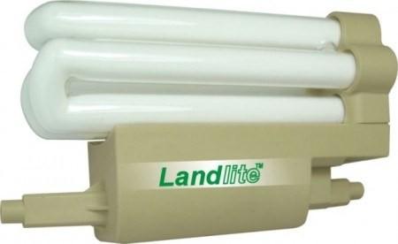 LANDLITE F118-24W/D 230V, 2700K, 8000óra, SZABÁLYOZHATÓ! 118mm/R7s halogén izzó helyett, kompakt fénycső (energiatakarékos izzó)