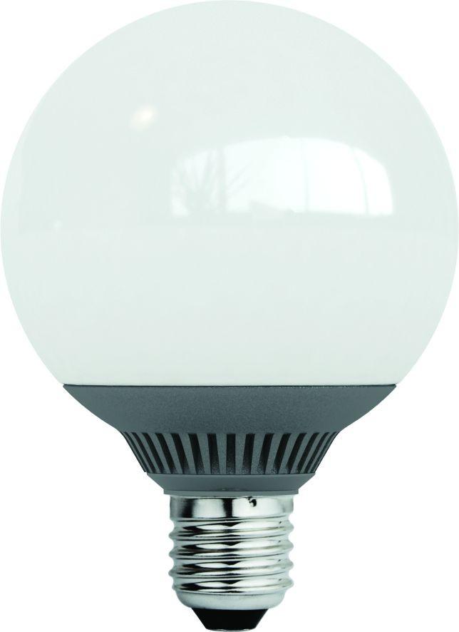 LANDLITE LED-G95-9W E27 3000K (melegfehér), LED izzó, fehér dobozban