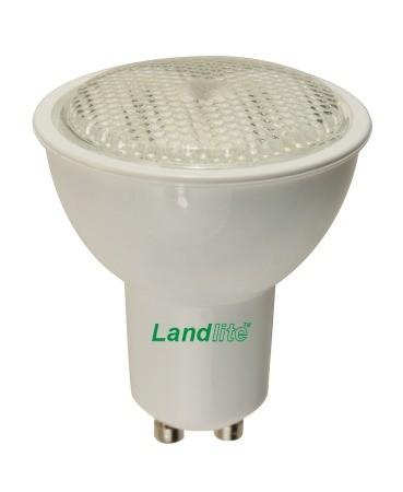 LANDLITE CFL-GU10-7W 230V 2700K energiatakarékos izzó