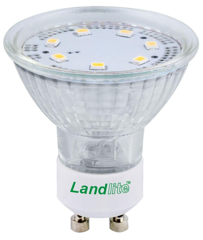 LANDLITE LED-GU10-4W/SMD melegfehér(2800K) spot izzó