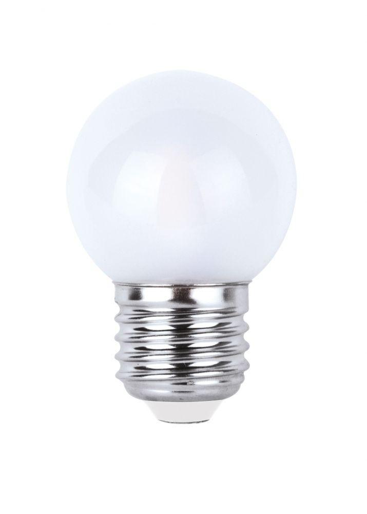 LED-G45-SXF/O E27 2.5W 2800K, LED izzó