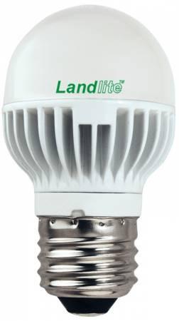 LED-G45-4W 230V E27 melegfehér, LED izzó