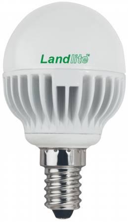 LANDLITE LED-G45-4W 230V E14 melegfehér, LED izzó