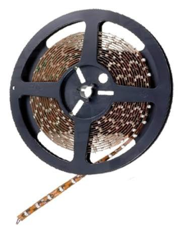 SMD3528,  4.8W/m waterproof LED strip 12V coolwhite IP65  (5m reel)