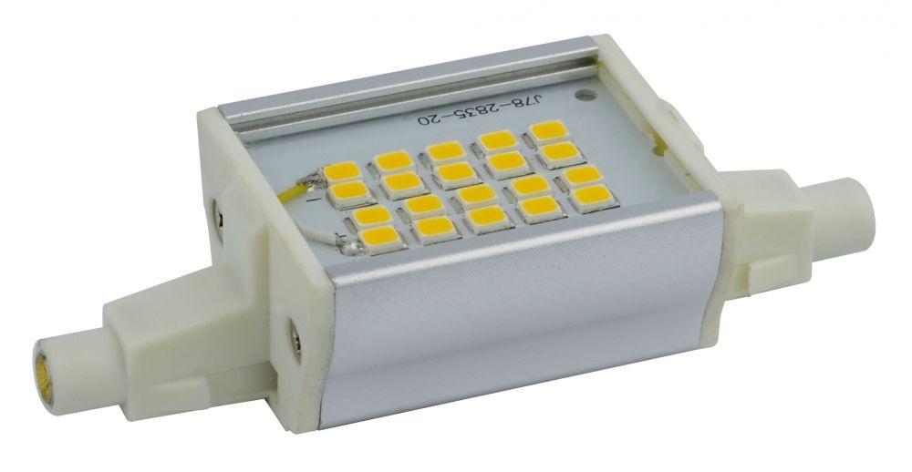 LANDLITE L78-4W melegfehér LED izzó R7s 78mm foglalattal