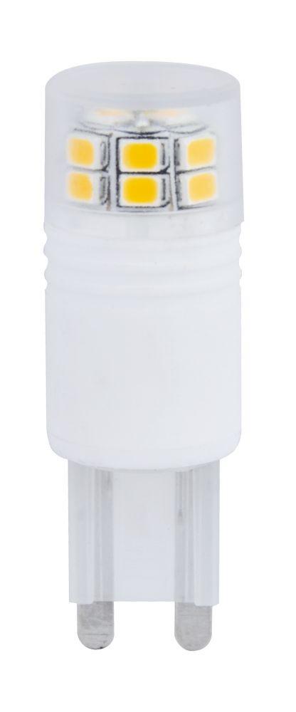 LED-G9-3W melegfehér LED izzó G9 foglalattal