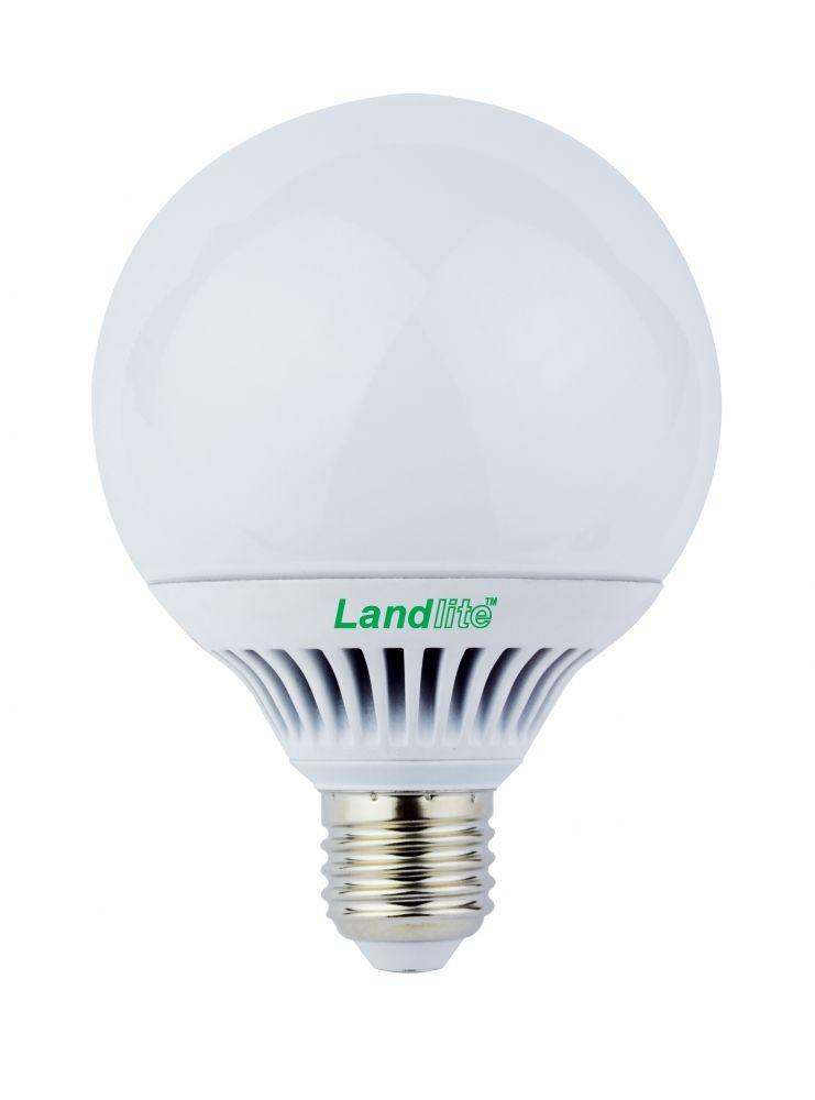 LANDLITE LED-G95-9W E27 3000K (melegfehér), szabályozható, LED izzó