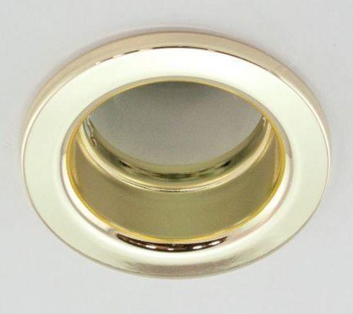 DL-630, 1X230V R80 E27 max 100W, fix kivitel, egyes beépíthető lámpa, arany
