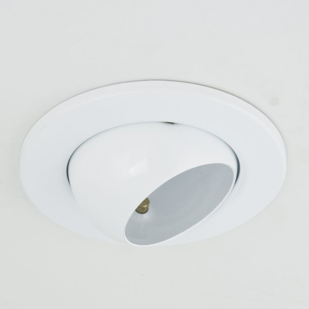 DL-710, 1X230V R50 E14 max 40W, rotateable design, single downlight lamp, white