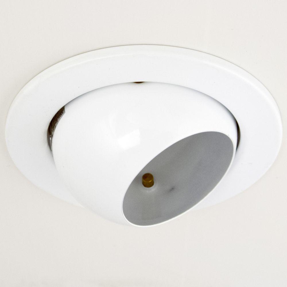 DL-720, 1X230V R63 E27 max 60W, billenthető, egyes beépíthető lámpa, fehér