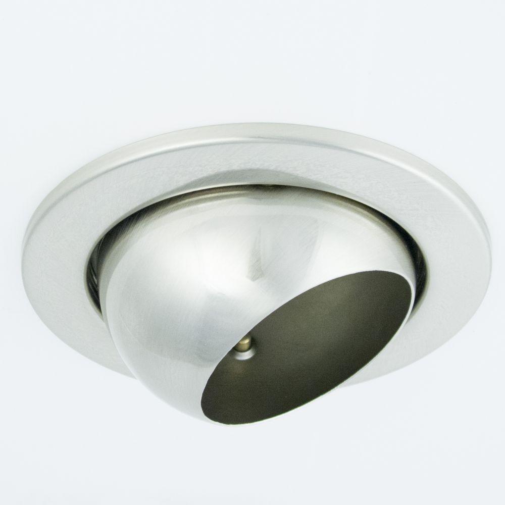 DL-720, 1X230V R63 E27 max 60W,billenthető, egyes beépíthető lámpa,matt króm