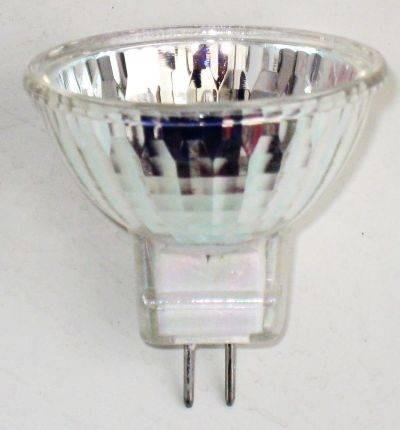 12V halogén izzó, MR11/C 12V 20W FTD, zárt
