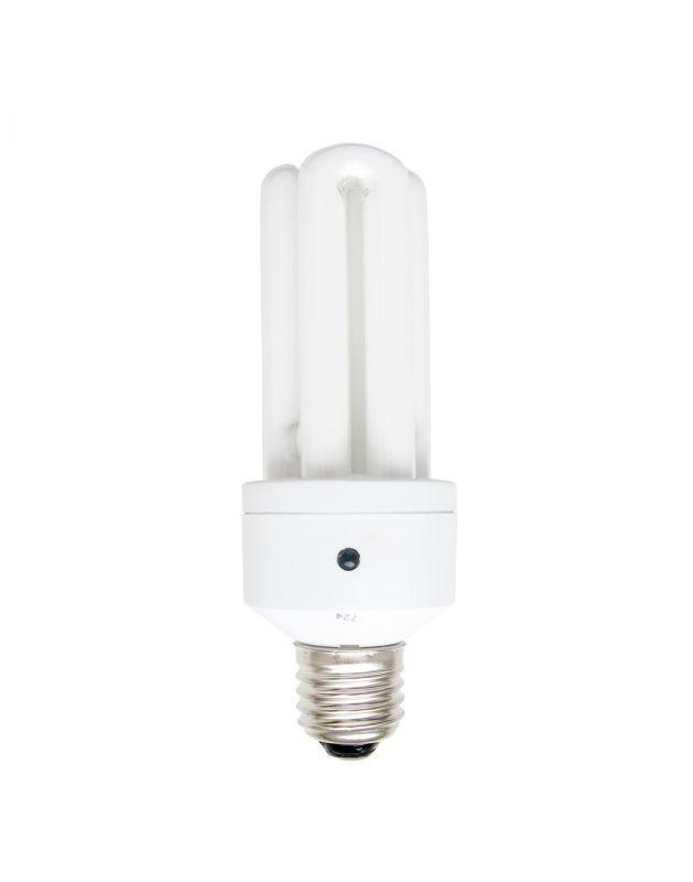ELS-16W E27, 2700K, 8000óra, 3 csöves, fényérzékelővel, kompakt fénycső (energiatakarékos izzó)