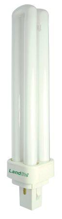 LANDLITE DUE-26W G24q-3 (PLC26W) 8000óra, 4000K, 4 csapos, kompakt fénycső (energiatakarékos izzó)