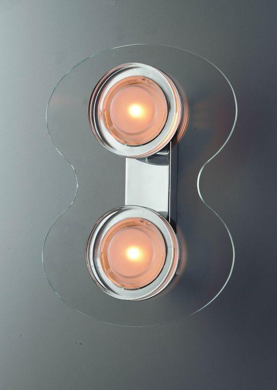 LANDLITE CELINA W6016/2L, 2x60W G9, fali lámpa