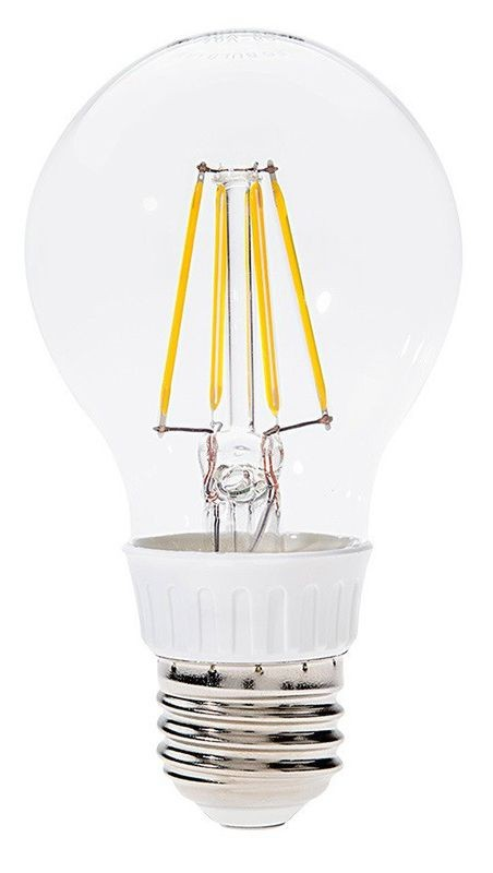 LED-A60-6W/FLT E27 6W 2700K, filament retro LED izzó