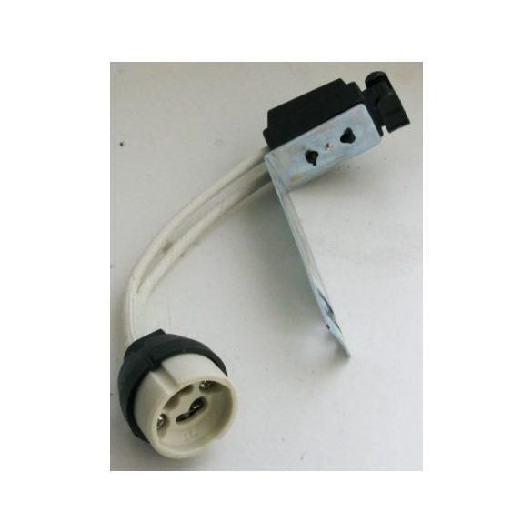 LANDLITE HS-103B GU10 lámpafoglalat, csatlakozóval