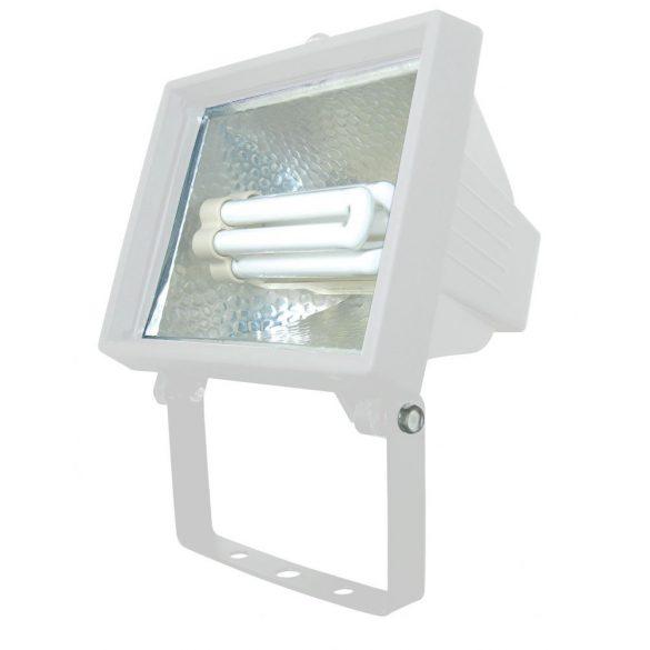 LANDLITE FL-F118-24W, 1X24W 118mm/R7s, fényvető / reflektor (kompakt fénycső mellékelve), fehér