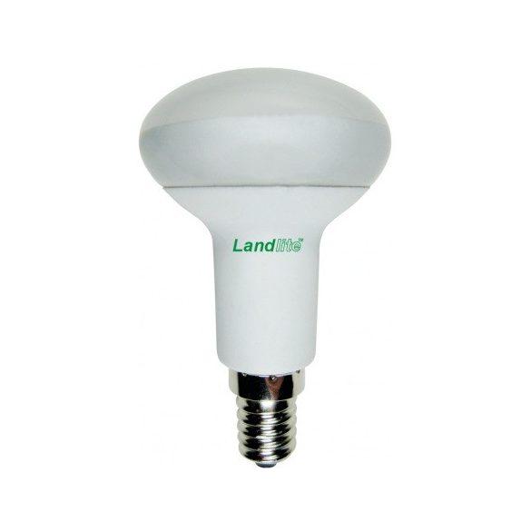 LANDLITE Energiatakarékos, E14, 7W, R50, 150lm, 2700K, gomba formájú fényforrás (EIR/M-7W R50)