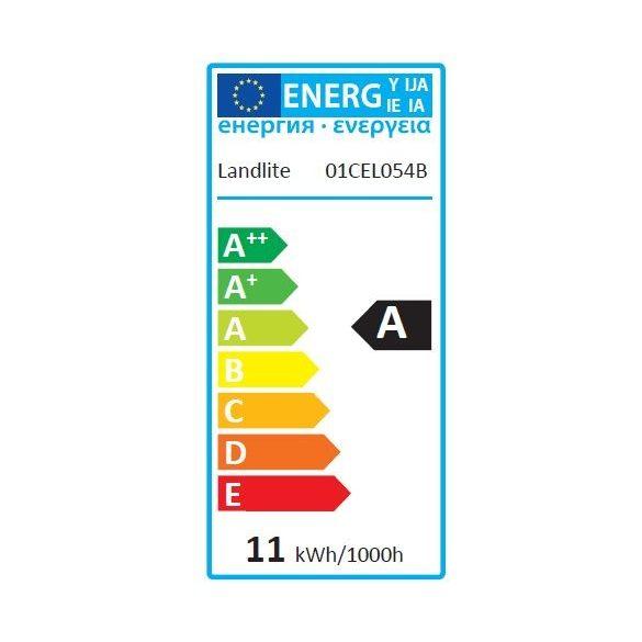LANDLITE Energiatakarékos, E14, 11W, 550lm, 2700K, spirál formájú fényforrás (ELHS-11W C04)