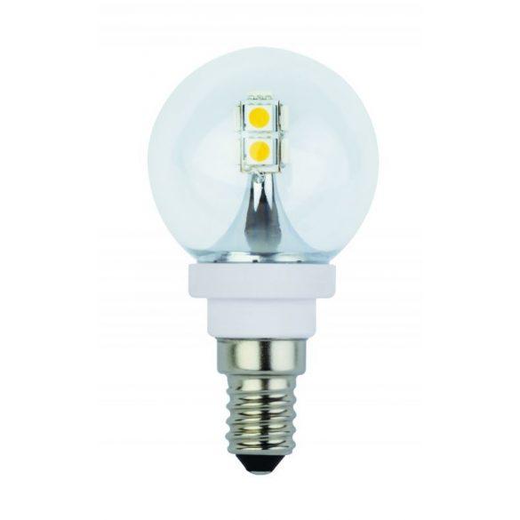 LANDLITE LED, E14, 2W, G45, 200lm, 2600K, kisgömb formájú fényforrás (LED-G45-509-2W)