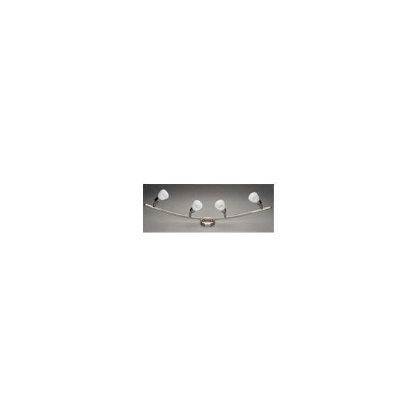 LANDLITE CLE-340A 230V G9 spot lámpa, matt króm, fehér búra