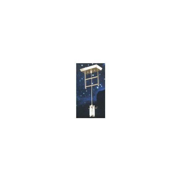 LANDLITE V2056/1C, modern függesztett lámpa 1xG9 230V