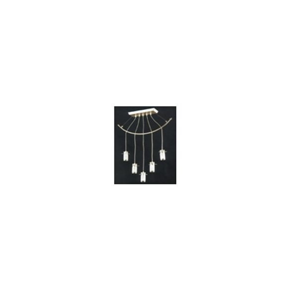 LANDLITE V2056/5C, modern függesztett lámpa 5xG9 230V