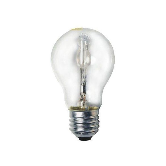 LANDLITE Halogén, E27, 42W, A55, 570lm, 2800K körte formájú fényforrás (HSL-A55-42W)