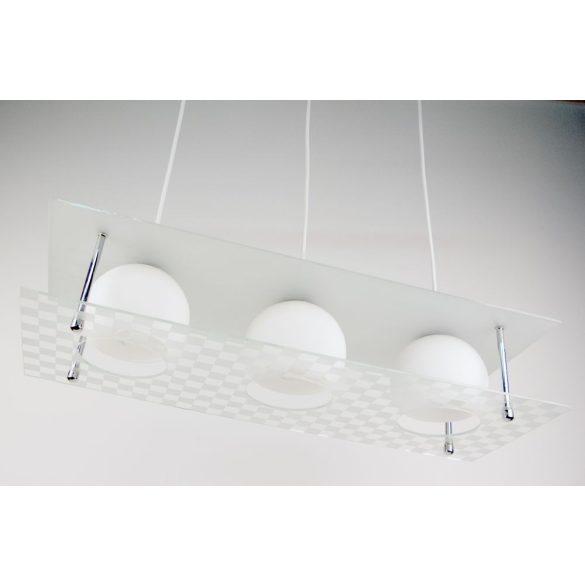LANDLITE V4085/3C modern függesztett lámpa 3xE27 230V