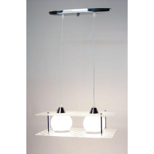 LANDLITE V4085/2C modern függesztett lámpa 2xE27 230V