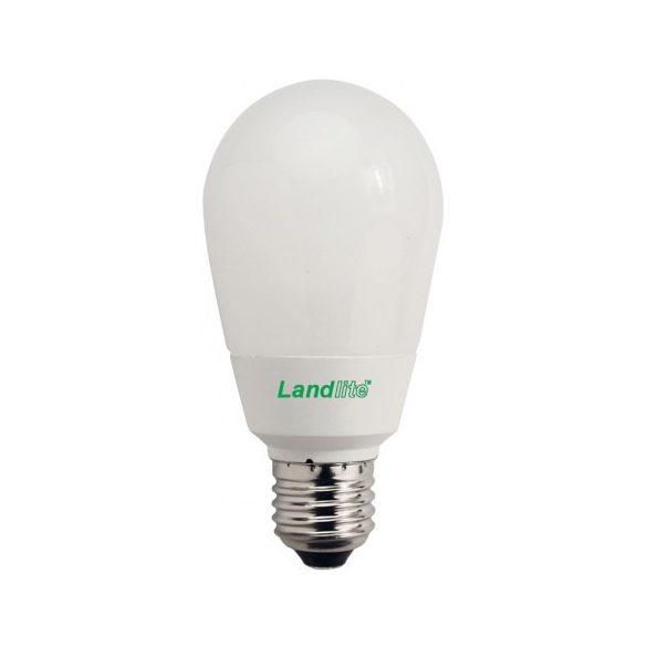 LANDLITE Energiatakarékos, E27, 15W, 750lm, 2700K, SZABÁLYOZHATÓ, körte formájú fényforrás (D-EI-E27-15W)