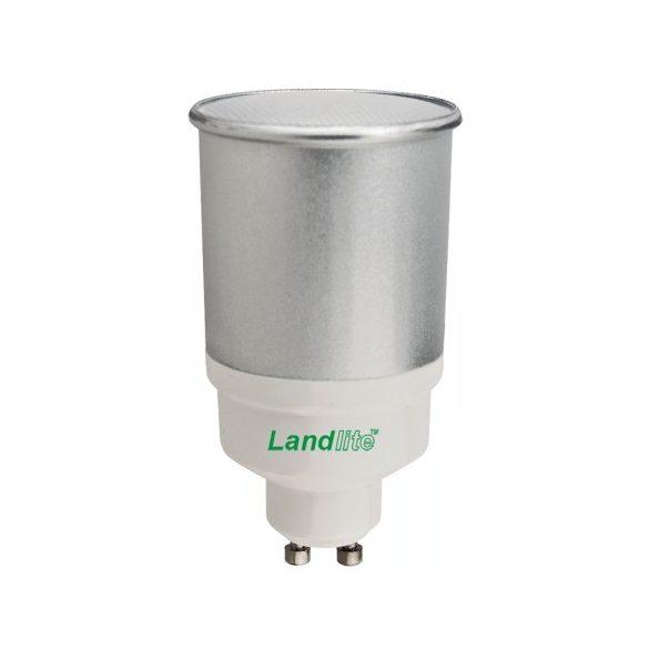 LANDLITE Energiatakarékos, GU10, 11W, 240lm, 2700K, SZABÁLYOZHATÓ, spot fényforrás (D-CFL-GU10-11W)