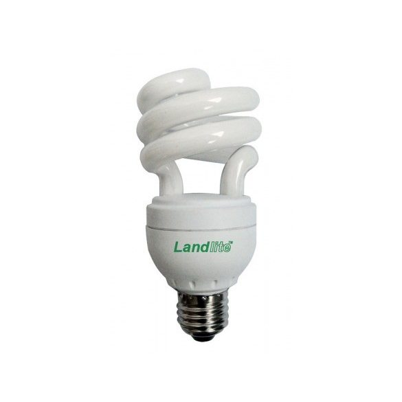 LANDLITE Energiatakarékos, E27, 22W, 1100lm, 2700K, SZABÁLYOZHATÓ, spirál formájú fényforrás (ELD/H-22W)