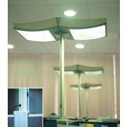 LANDLITE DD OFFIA 2X38W (OLS-238DD), Irodai lámpa