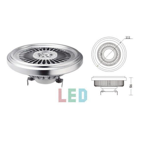 LANDLITE LED, G53, 9W, 380lm, 3000K, fényforrás (LED-AR111-303-9W)