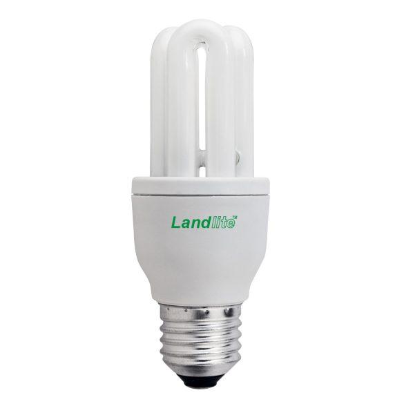 LANDLITE Energiatakarékos, E27, 9W, 450lm, 2700K, U csöves fényforrás (ELT/M-9W)