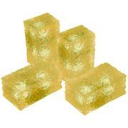 LANDLITE LED-G11-5X0.5W, sárga jégtégla lámpa (5db-os szett)