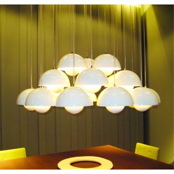 LANDLITE LED, E27, 9W, G95, 600lm 3000K, nagygömb formájú fényforrás (LED-G95-9W)