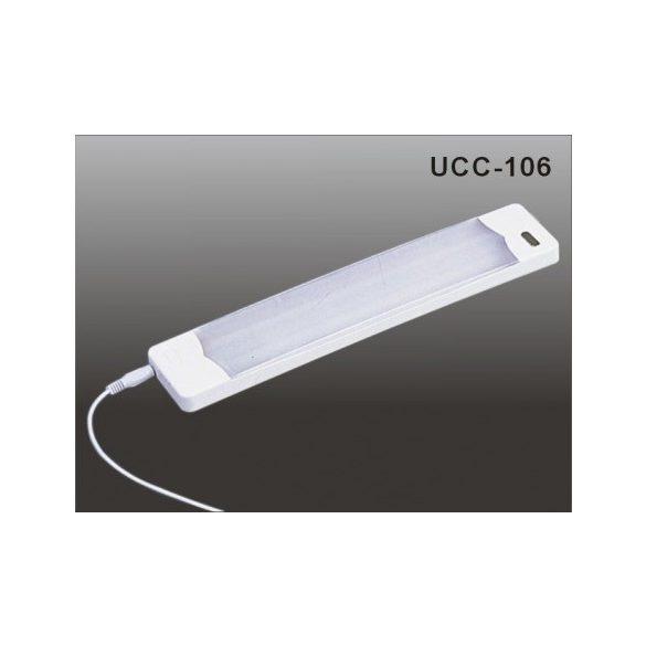 LANDLITE Energiatakarékos, 6W, melegfehér, 295mm szekrény lámpa tápegységgel (UCC-106-2)
