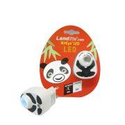 LANDLITE Panda LED-NL01 éjszakai lámpa kék fényű