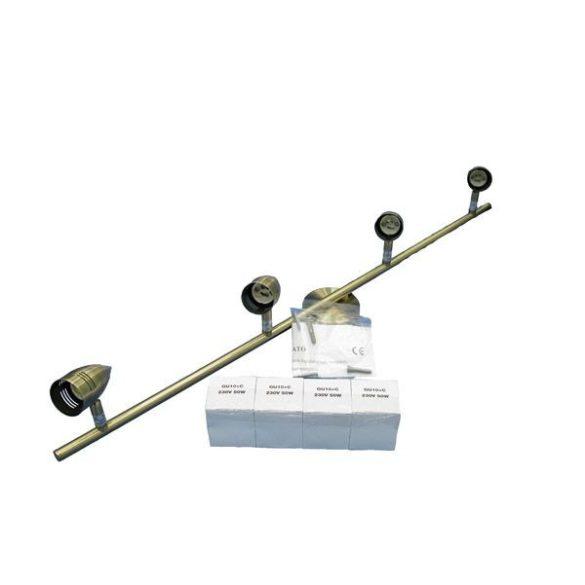 LANDLITE SPY CLG-440C(21HS1-14),  spotlámpa antik bronz színben, 4x50W