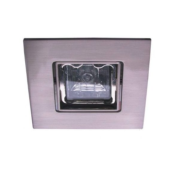 LANDLITE Halogén, GU10, 3x50W, 79x79mm, SQUARE (négyzetes), billenő, króm, spot lámpa szett (KIT-83-3)