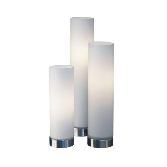 LANDLITE Gyertya dekor asztali lámpa szett 3x40W