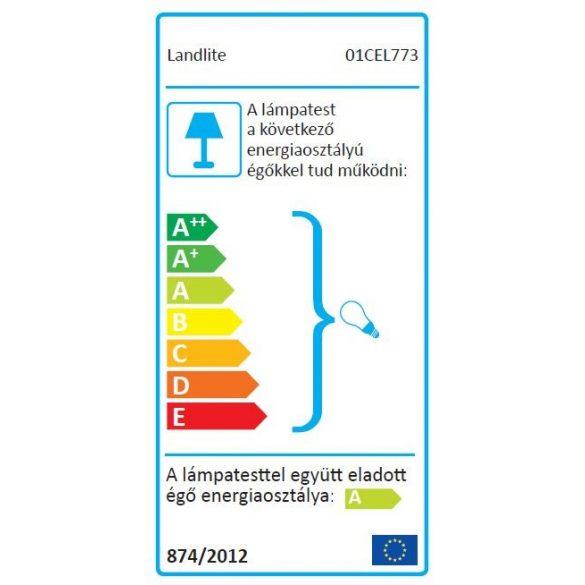LANDLITE LED, GU10, 3x1,5W, Ø79mm, fix, fehér, spot lámpa keret (KIT-57A-3)