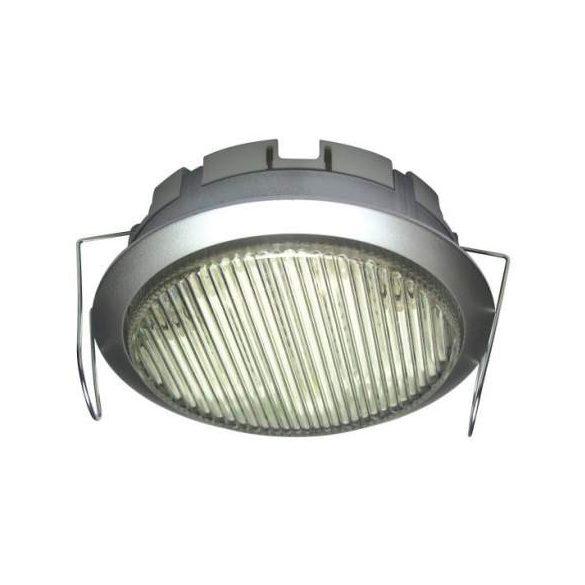 LANDLITE GX53, 1x9W, ezüst, pultvilágító, energiatakarékos fényforrással, (DL-GX53-9W)